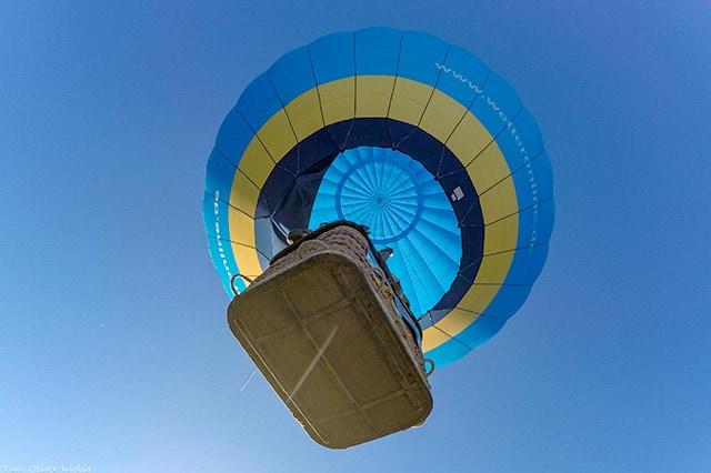 WetterOnline Ballon von unten