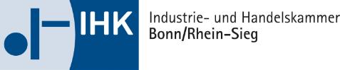 Logo der Industrie- und Handelskammer Bonn/Rhein-Sieg