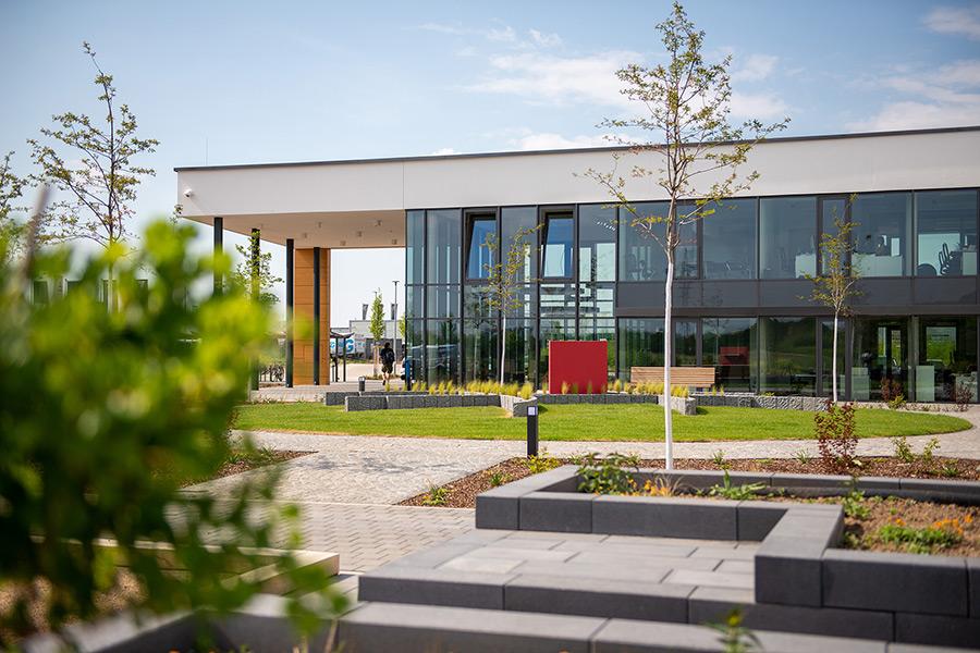 In Bornheim wurde die Parkanlage ansprechend gestaltet
